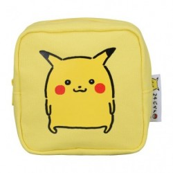 Square pouch 24 Jikan Pokémon Chu japan plush