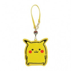 Pass Case Pikachu 24 Jikan Pokémon Chu japan plush