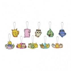 Acrylic charm 24 Jikan Pokémon Chu japan plush