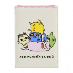 Folding mirror 24 Jikan Pokémon Chu japan plush