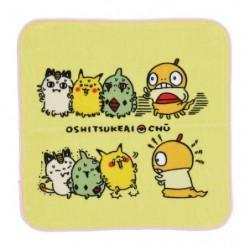 Hand towel 24 Jikan Pokémon Chu Oshitsukeai japan plush