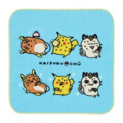 Hand towel 24 Jikan Pokémon Chu Kaifuku japan plush