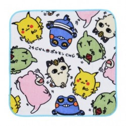 Hand towel 24 Jikan Pokémon Chu japan plush