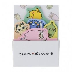 Box notes collantes 24 Jikan Pokémon Chu japan plush
