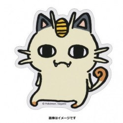 Sticker Meowth 24 Jikan Pokémon Chu japan plush