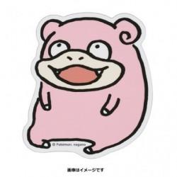 Sticker Slowpoke 24 Jikan Pokémon Chu japan plush