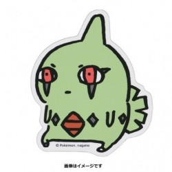 Sticker Larvitar 24 Jikan Pokémon Chu  japan plush