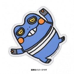 Sticker Croagunk 24 Jikan Pokémon Chu Oyasumi japan plush