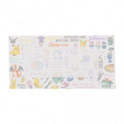 Envelope Pokemon diner white japan plush