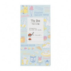 Sticky todo list Pokemon diner blue japan plush