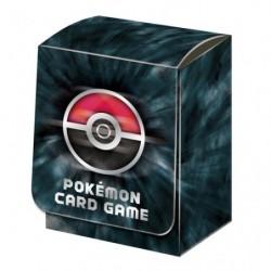 Pokémon Deck Box Noir basique japan plush