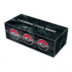 Pokémon Long Deck Case Basic Black japan plush