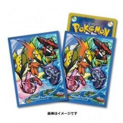 Pokemon Card Sleeves Alola Guardian deities japan plush