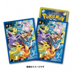 Pokemon Card Game Sleeves Eevies Dash japan plush