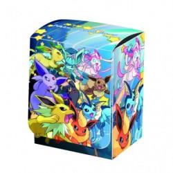Pokemon Deck Box Ruée Évolis japan plush