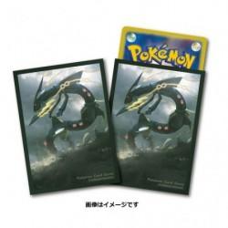 Pokemon Card Game Sleeves Mega Rayquaza japan plush