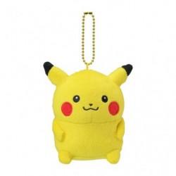 Peluche porte-clés Pikachu 24 Jikan Pokémon Chu  japan plush