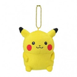 Plush Keychain Pikachu 24 Jikan Pokémon Chu