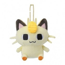 Plush Keychain Meowth 24 Jikan Pokémon Chu japan plush