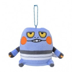 Peluche porte-clés Cradopaud 24 Jikan Pokémon Chu  japan plush