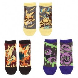 Chaussettes courtes Pokémon Band Festival 3 Sets V1 japan plush