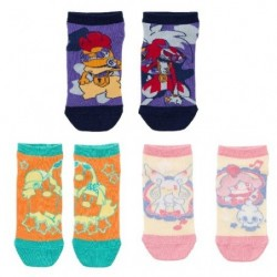 Chaussettes courtes Pokémon Band Festival 3 Sets V2 japan plush