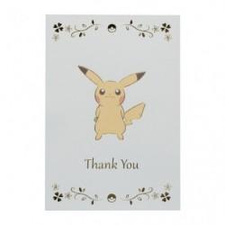 Carte de Voeux Merci Pikachu japan plush