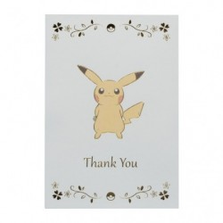 Greeting Card Thank Pikachu japan plush