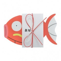 Greeting Card Celebration Magikarp japan plush