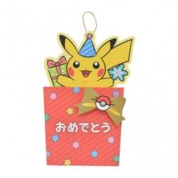 Greeting Card Celebration Pikachu