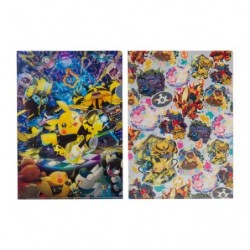 A4 Clear file Set Pokémon Band Festival japan plush