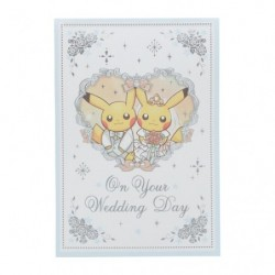Greeting Card Wedding Pikachu japan plush