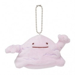 Plush Keychain Ditto Transformation Muk japan plush