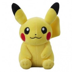 Plush Pikachu Sitting japan plush