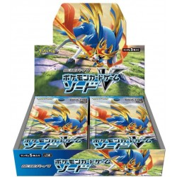 Sword Display Box Pokemon Cartes S1W