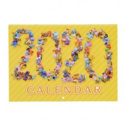 Pokemon Center Original Fit Calendar 2020 japan plush