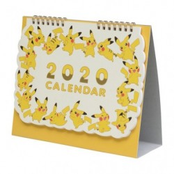 Pokemon Center Original Calendrier 2020 japan plush