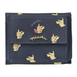 Compact Wallet Pikachu Zuri japan plush
