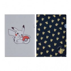 Pochette Transparente Pikachu Zuri japan plush
