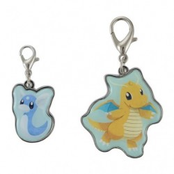 Keychain Dratini Dragonite Pokémon Evolution japan plush