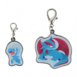 Keychain Bagon Salamence Pokémon Evolution