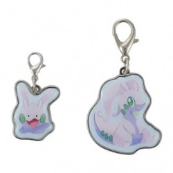 Keychain Goomy Goodra Pokémon Evolution
