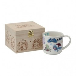 Mug boîte en bois Pokémon Evolution japan plush