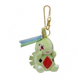 Plush Keychain Larvitar Pokémon Evolution