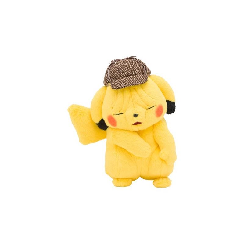 Plush Detective Pikachu Sad Meccha Japan