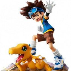 Figure Digimon Adventure Taichi Yagami & Agumon 20thAnniversary G.E.M. Series japan plush
