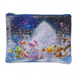 Pochette plate paillettes Pokémon Frosty Christmas japan plush