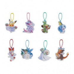 Porte-clés acryliques Pokémon Frosty Christmas BOX japan plush