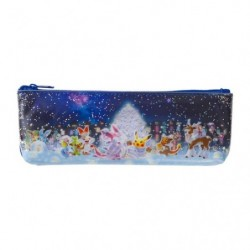 Trousse paillettes Pokémon Frosty Christmas japan plush
