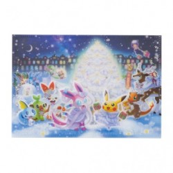Cahier paillettes Pokémon Frosty Christmas japan plush